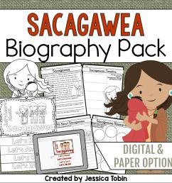 Sacagawea Biography Pack - Elementary Nest [ 960 x 960 Pixel ]