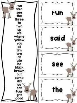 Winter Fluency for Early Readers- Zoofluency 2