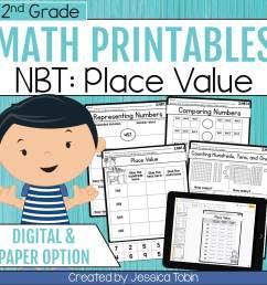 2nd Grade NBT Math Worksheets - Elementary Nest [ 960 x 960 Pixel ]