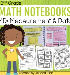 2nd Grade Measurement and Data Math Interactive Notebook - Elementary Nest [ 960 x 960 Pixel ]