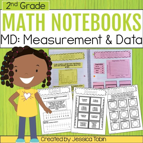 small resolution of 2nd Grade Measurement and Data Math Interactive Notebook - Elementary Nest