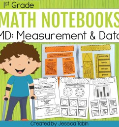 1st Grade Measurement and Data Interactive Notebook - Elementary Nest [ 960 x 960 Pixel ]
