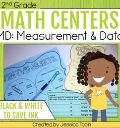 2nd Grade Measurement and Data Math Centers - Elementary Nest [ 960 x 960 Pixel ]