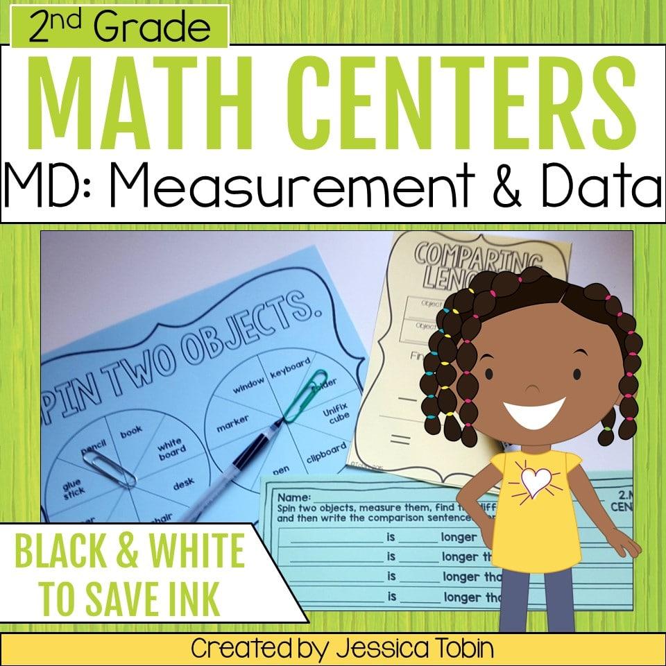 medium resolution of 2nd Grade Measurement and Data Math Centers - Elementary Nest