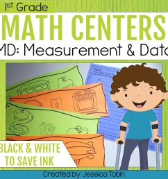 1st Grade Measurement and Data Math Centers - Elementary Nest [ 960 x 960 Pixel ]