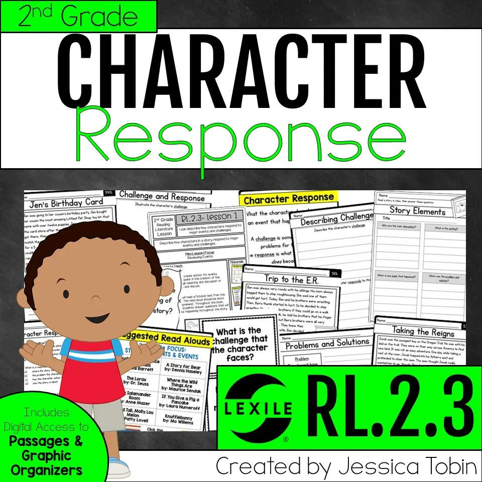 medium resolution of All About CHARACTERS- Story Elements Study - Elementary Nest