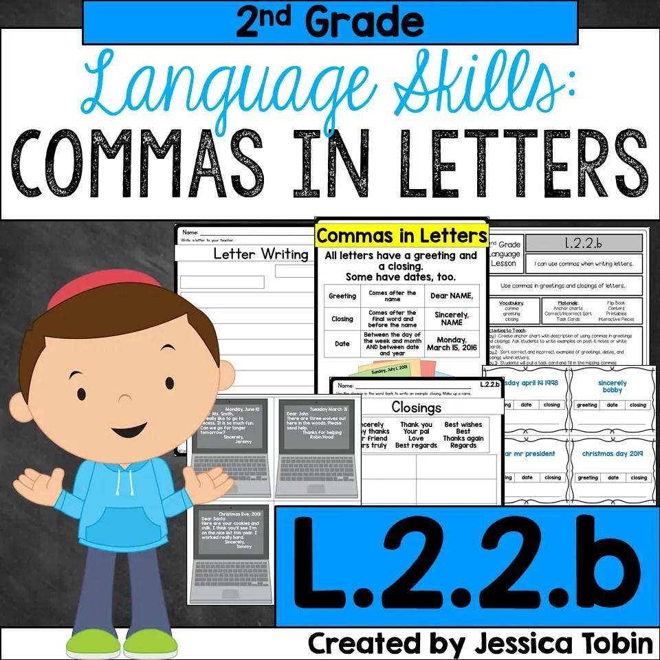 hight resolution of Teaching Commas to Students - Elementary Nest