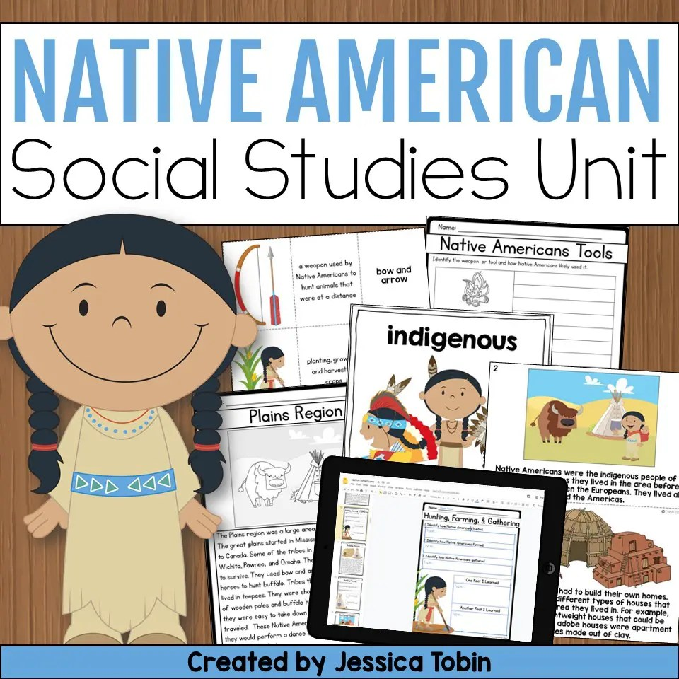 hight resolution of Native American Activities for the Classroom - Elementary Nest