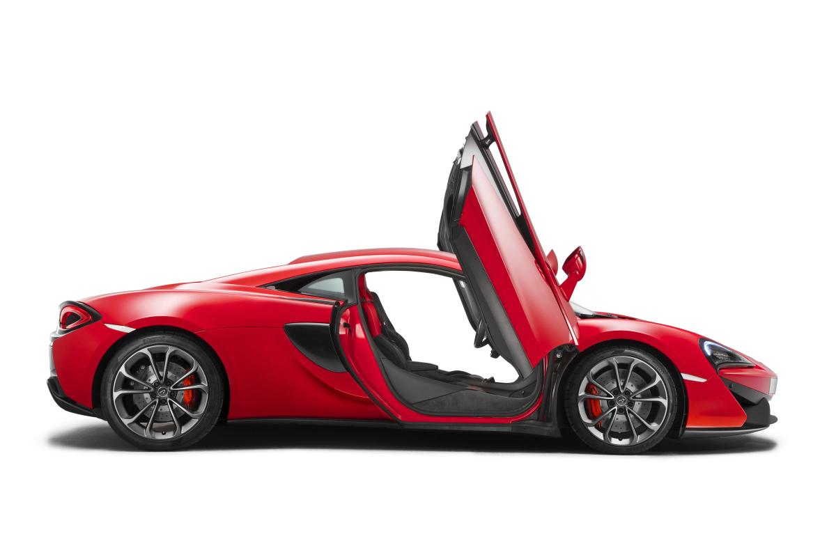 Mclaren Unveils 540c Coupe @ Shanghai Auto Show, The