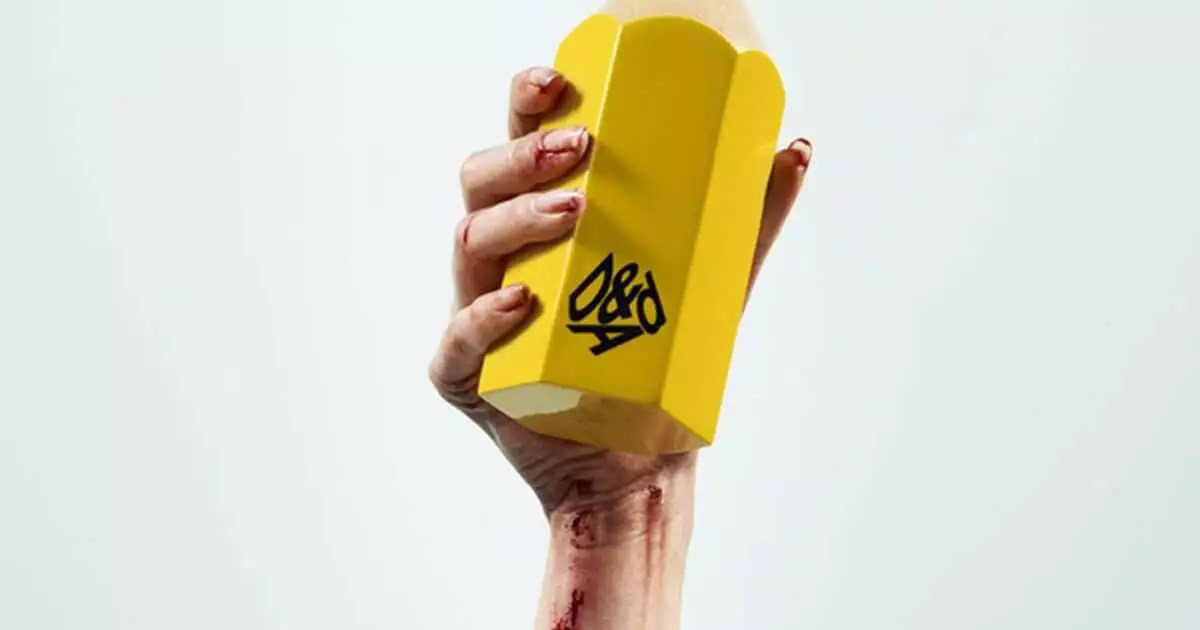 D&AD Yellow Pencil Held High Winning