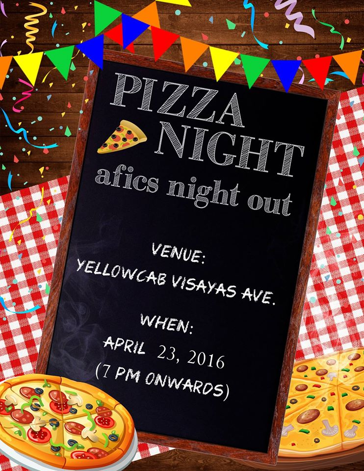 AFiCS: Pizza Night Out