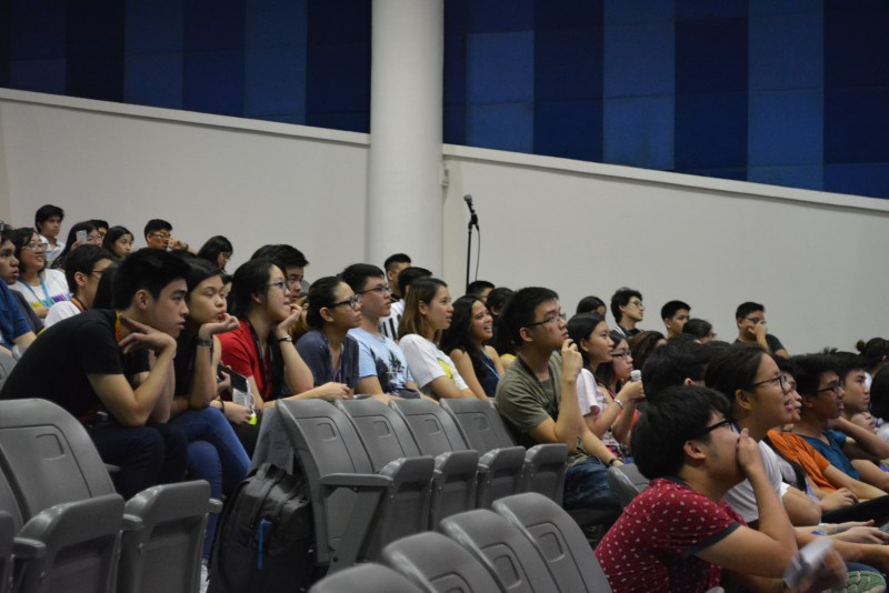 Celadon members listening attentively to the talks. Photo by Regine Choa.