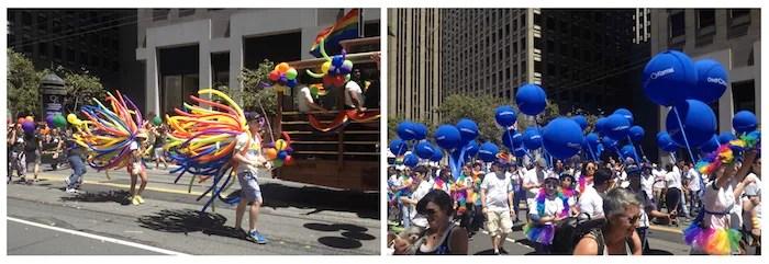 Ballons pride