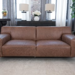 Chestnut Colored Leather Sofa Black Friday 2018 Uk Bed Industrial  Elements Fine Home Furnishings