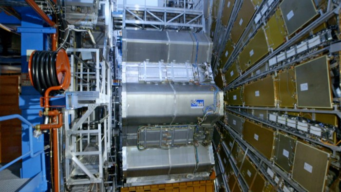 Chasing Einstein - The CERN Atlas detector in Geneva, Switzerland