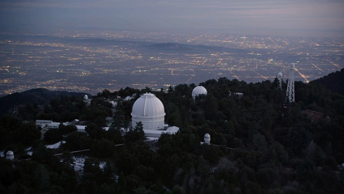 Chasing Einstein - The Mt. Wilson Observatory in Los Angeles, CA