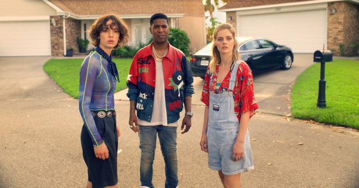 Brigette Lundy-Paine, Kid Cudi and Samara Weaving star in BILL-TED FACE THE MUSIC_rgb - still 3