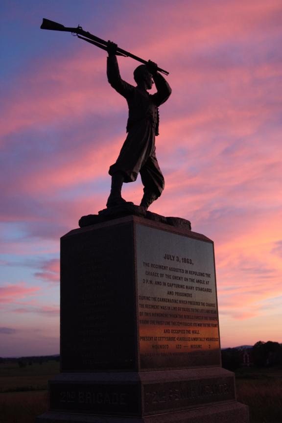Monument at Cemetery Ridge, Gettysburg