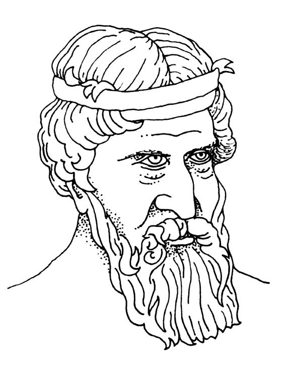 Plato drawing