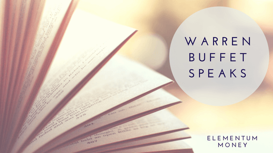 Book Club – Warren Buffet Speaks