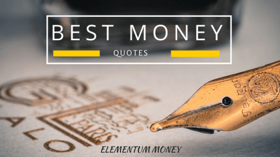 Best Money Quotes