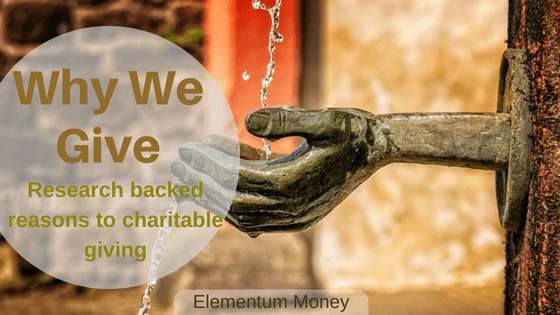 Why We Give (to Charitable Purposes)