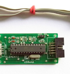 the usbasp consists of the atmega8 ic which can be connected through usb port as elementz 8051 programmer by providing suitable driver form here  [ 3558 x 2082 Pixel ]