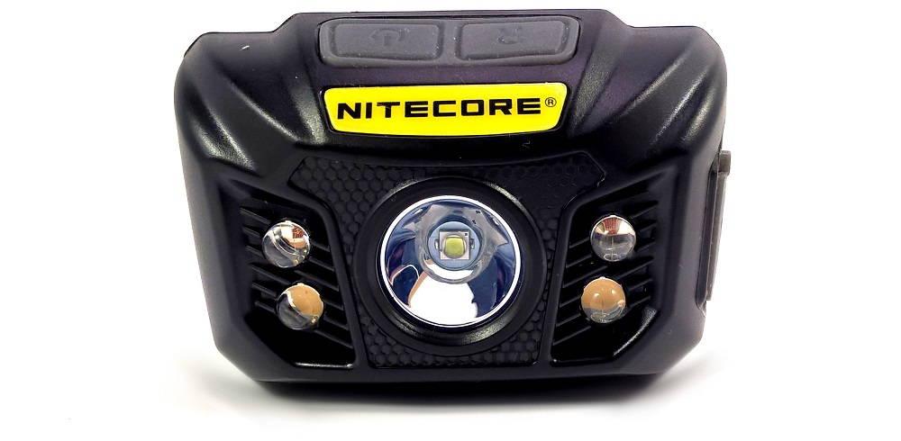 Nitecore NU30 szemből