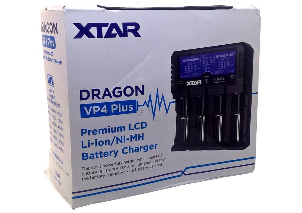 XTAR VP4 PLUS DRAGON doboza