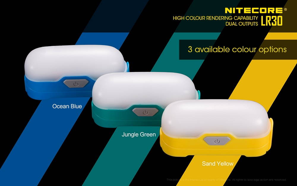 Nitecore LR30 color banner