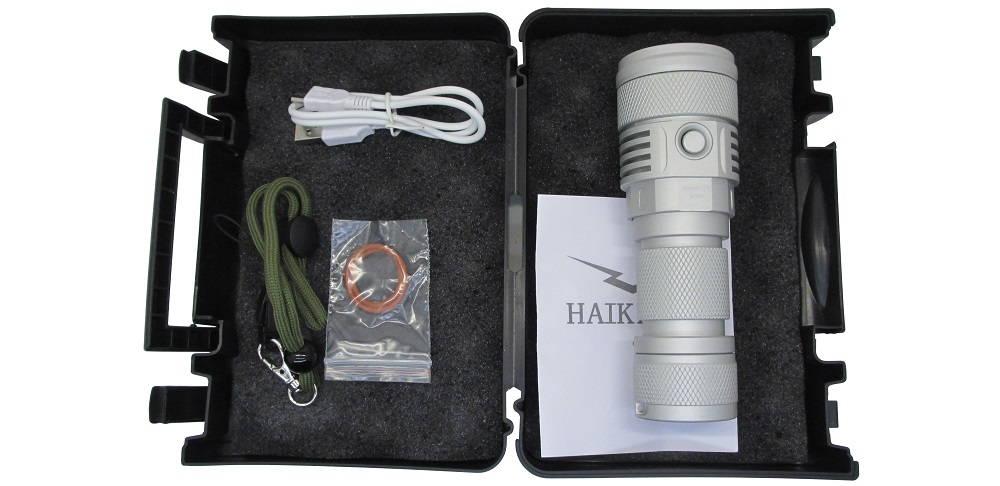 HAIKElite SC02 tartozékok