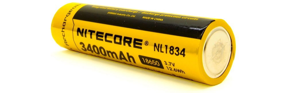 Nitecore HC65 NL1834 hátulja