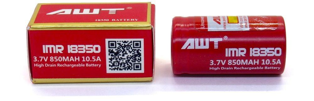 AWT IMR 18350 lítium-ion akku