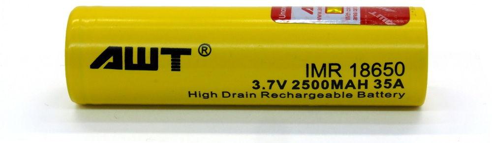 AWT IMR 18650 35A lítium-ion akku
