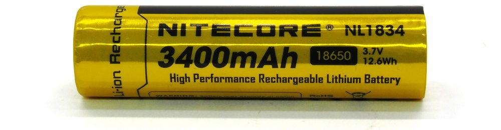 Nitecore NL1834 lítium-ion akku