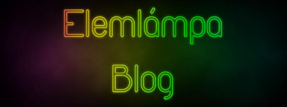 elemlámpa blog banner