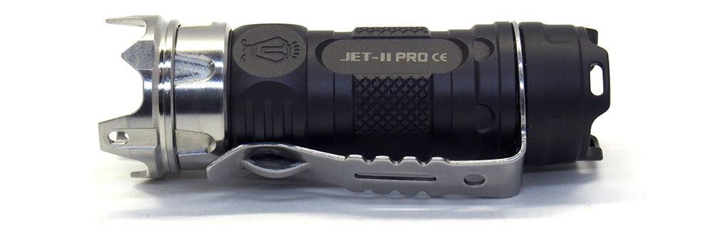 JetBeam JET II PRO oldalról