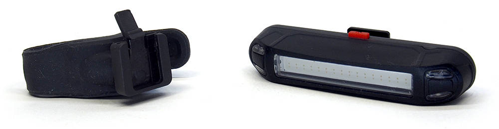 UTorch kerékpár lámpa hátsó lámpa tartóval