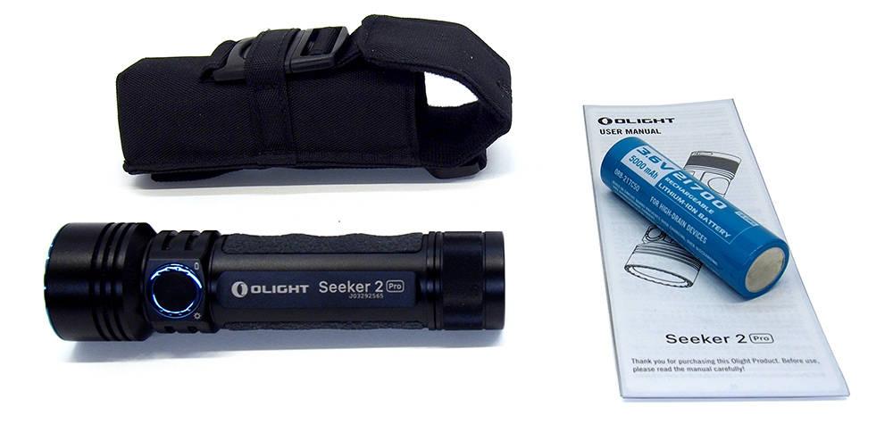 Olight Seeker 2 Pro tartozékok