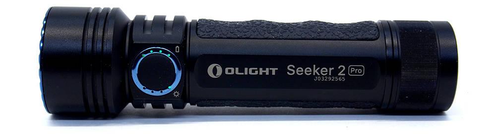 Olight Seeker 2 Pro visszajelző LED-ek