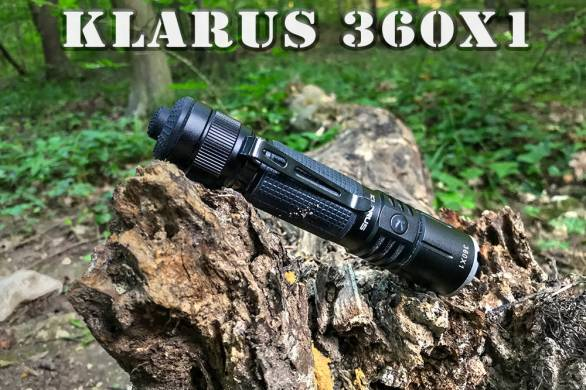 Klarus 360X1 borító