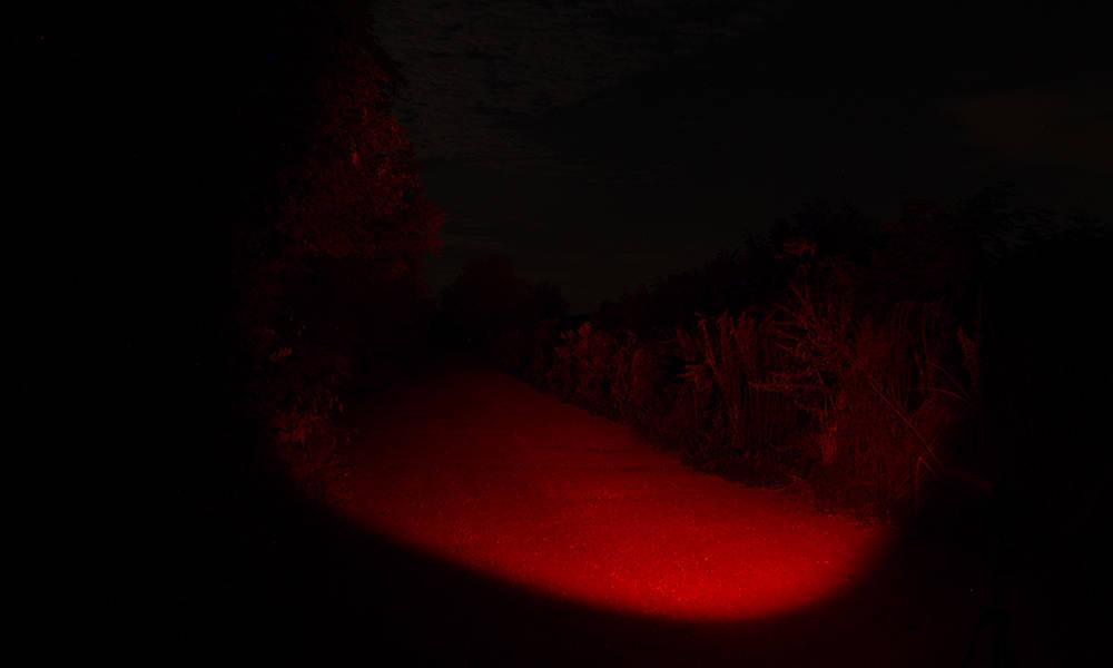 Elemlámpa kiegészítők vörös szűrő