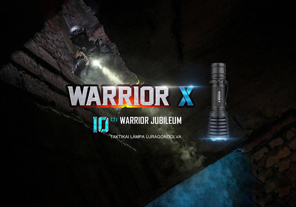 Olight Warrior X borító