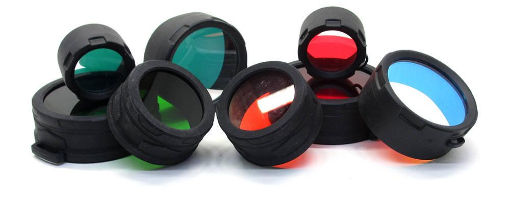 Vadász elemlámpa színszűrők
