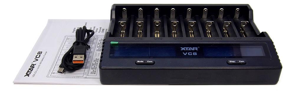 XTAR VC8 tartozékok