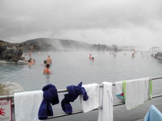 Nature baths at Myvatn