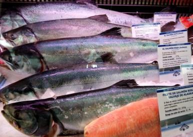 Salmones salvajes de Alaska