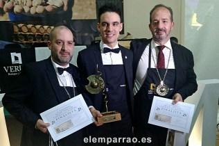 Finalistas: David Alcántara, Valentín Checa y José Carlos Rodríguez