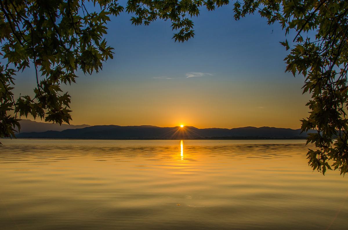 Вила Тиквеш и плажа Елем Турс – Дојранско езеро