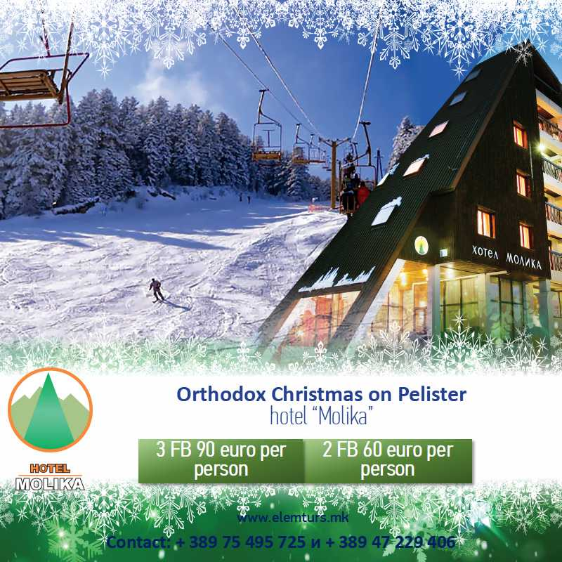 Hotel Molika – Orthodox Christmas offer 2019